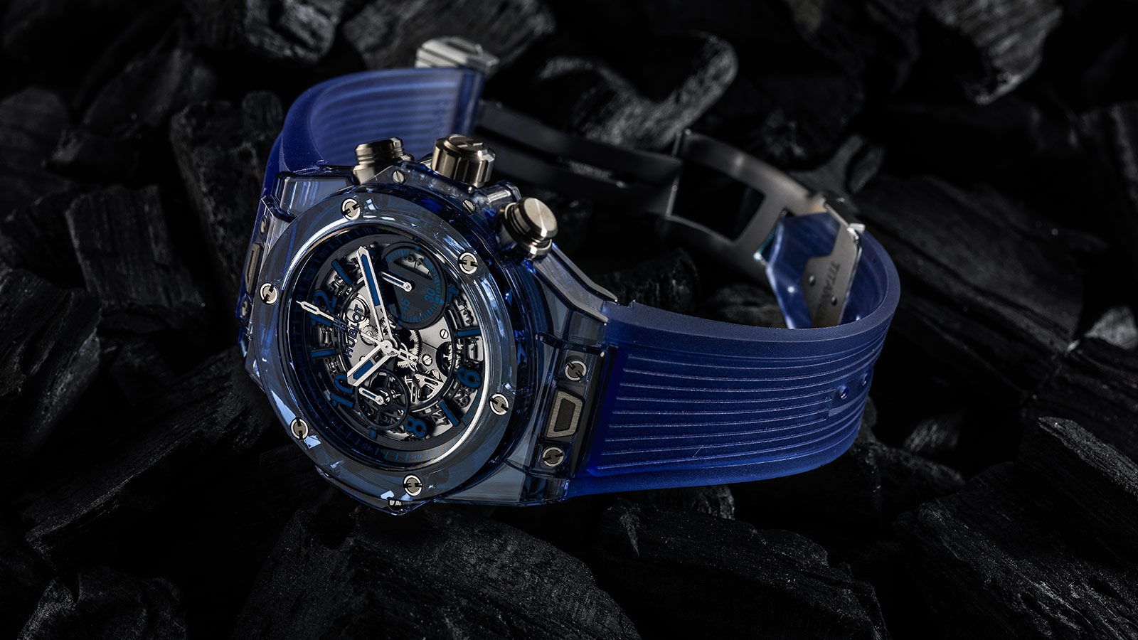 Big Bang Unico Sapphire Blue 411.JR.4901.RT Replik-Uhren
