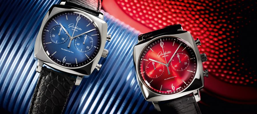 Glashütte Original: Sixties Iconic Square Ocean und Fire