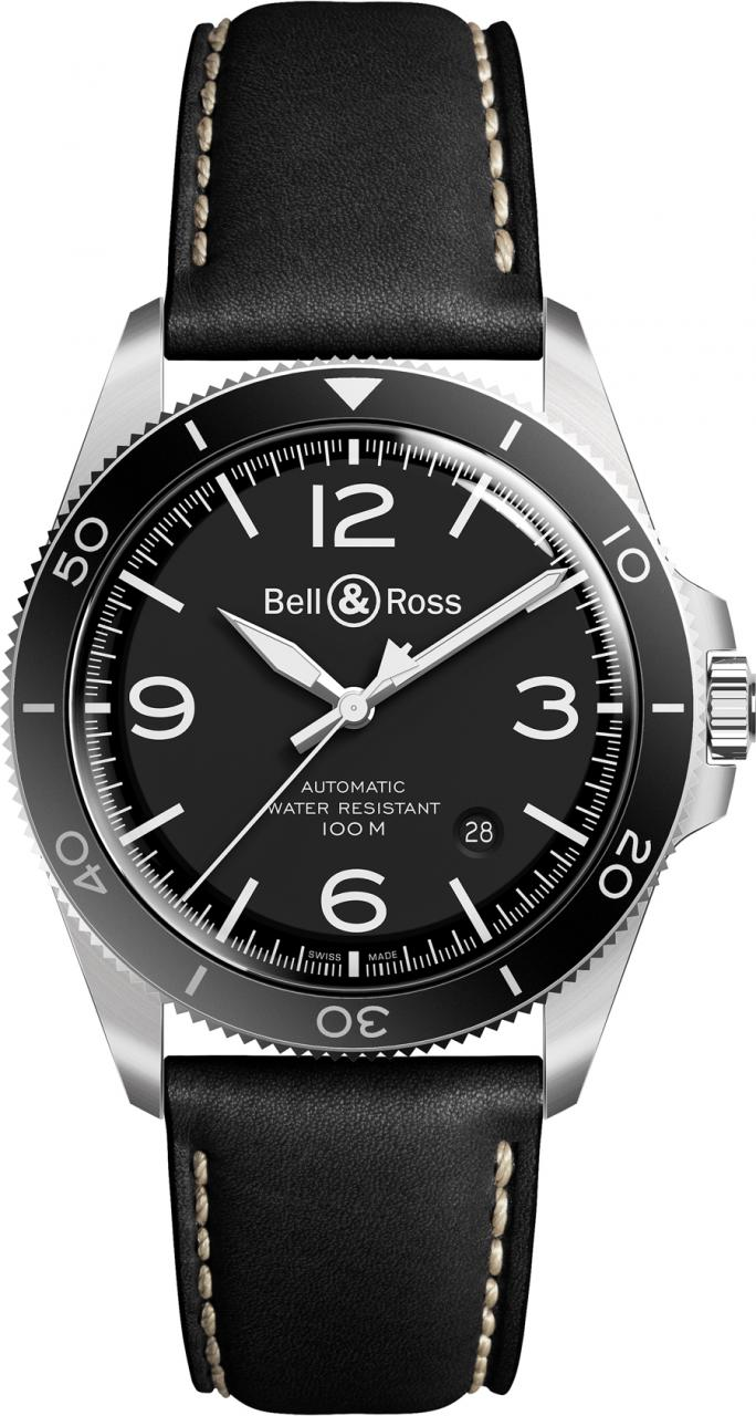 Bell & Ross: BR V2-92 Black Steel