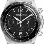 Bell & Ross: BR V2-94 Black Steel