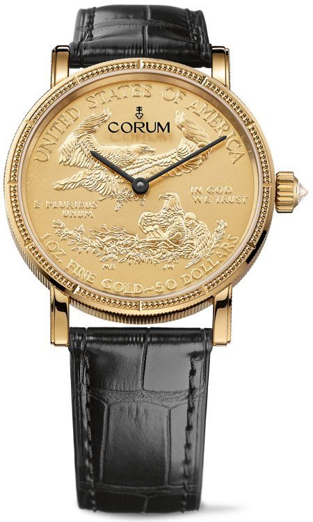 Corum Coin Watch 50$ Münze