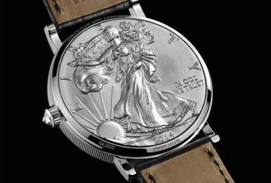 Corum Coin Watch 1 $ Rückseite