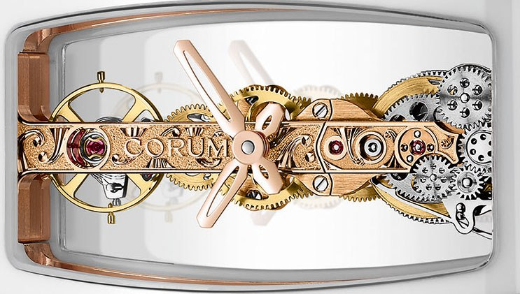 Corum  Miss Golden Bridge Ceramic