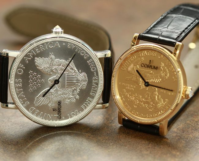 Corum Coin Watch 50th Anniversary