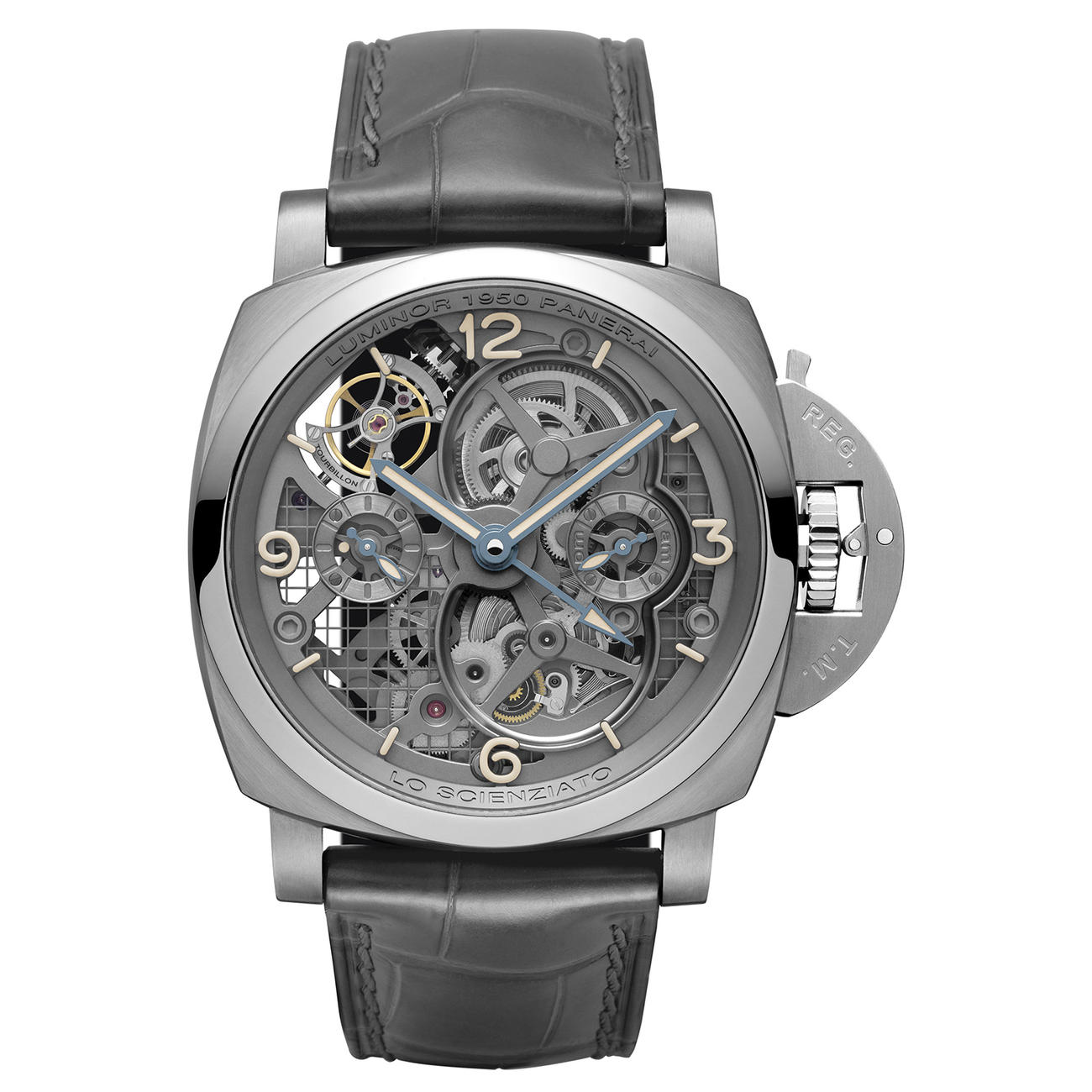 Skeleton Panerai Luminor 1950 Tourbillon GMT PAM00578 replica